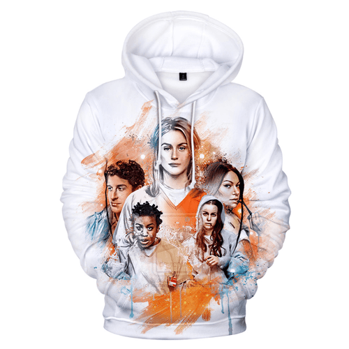 Orange Is the New Black Hoodie - D