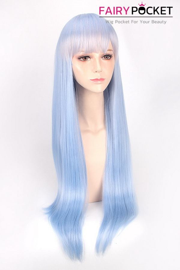 Re ZERO -Starting Life in Another World Rem Light Blue Anime Cosplay Wig