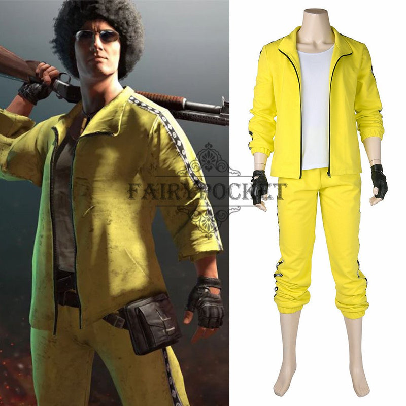 PlayerUnknown's Battlegrounds Cosplay Costume - E