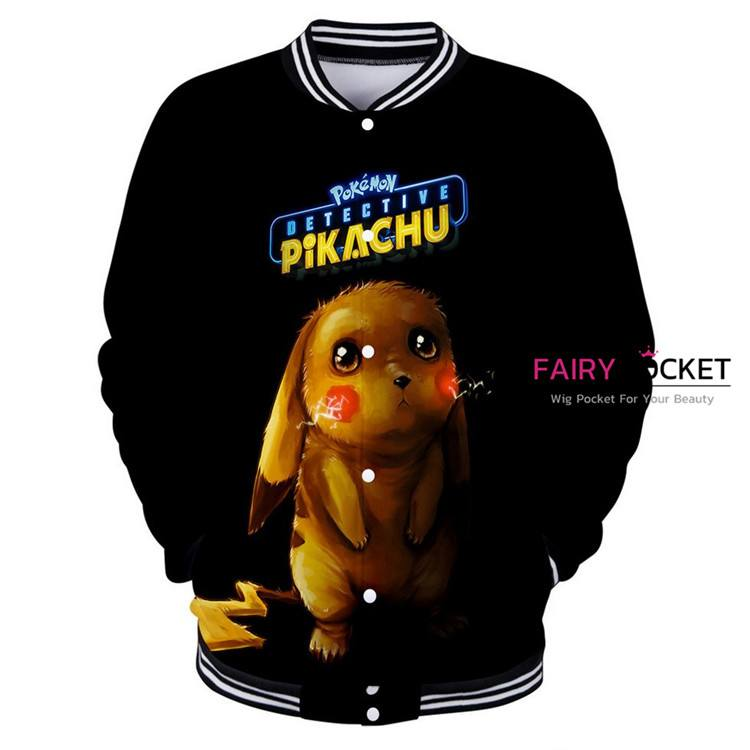 Pokemon Detective Pikachu Jacket/Coat - D