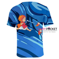 Ponyo on the Cliff T-Shirt - E