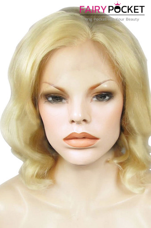 Blonde Medium Wavy Lace Front Wig