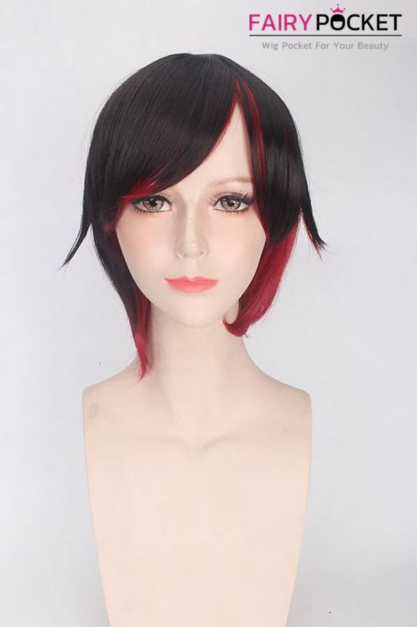 RWBY Ruby Rose Anime Cosplay Wig