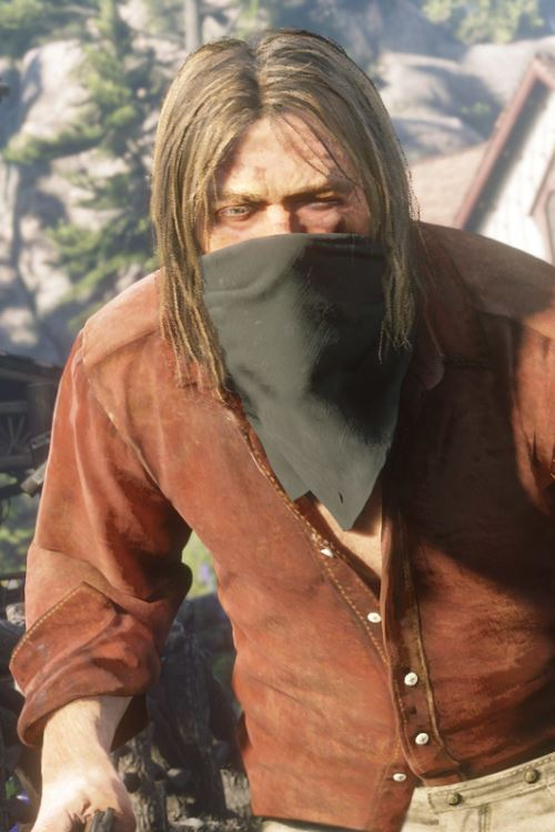 Red Dead Redemption 2 Micah Bell Cosplay Wig