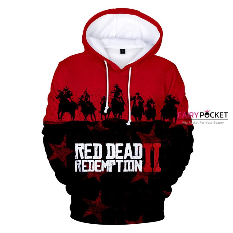 Red Dead Redemption 2 Red Hoodie