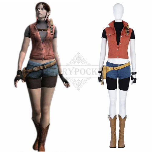 Resident Evil 7 Claire Redfield Cosplay Costume