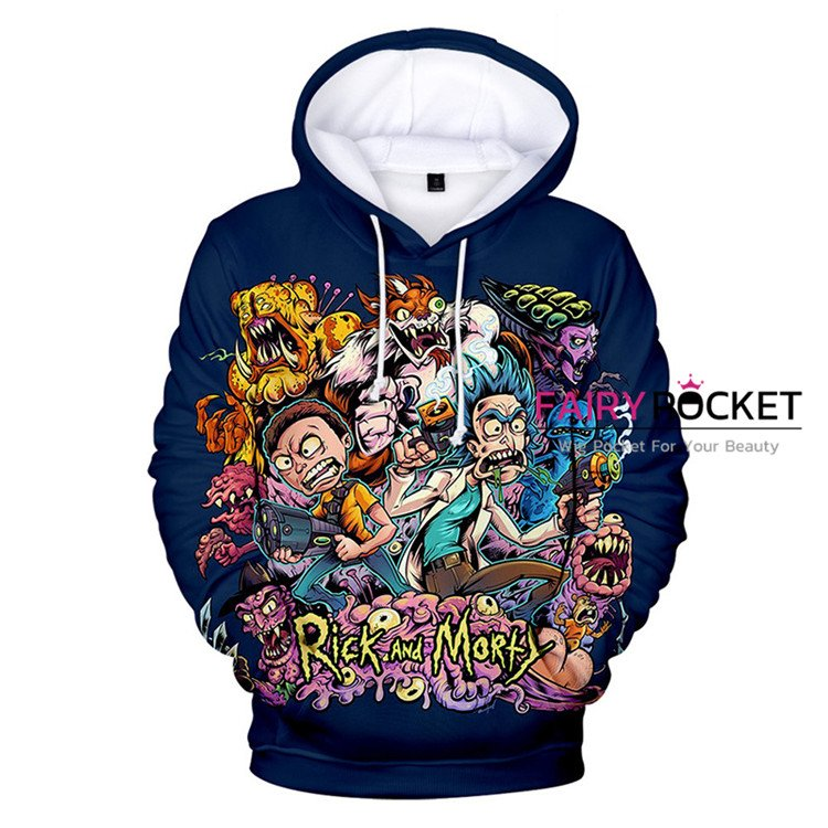 Rick and Morty Hoodie - Z