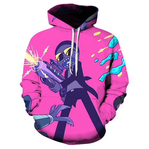 Rick and Morty Anime Hoodie - BD