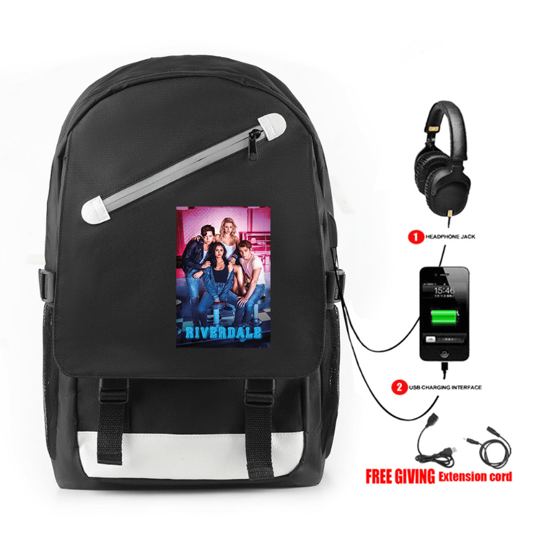 Riverdale Backpack with USB Charging Port (5 Colors) - BF