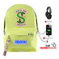 Riverdale Backpack with USB Charging Port (5 Colors) - Y