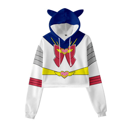 Sailor Moon Cat Ear Hoodie