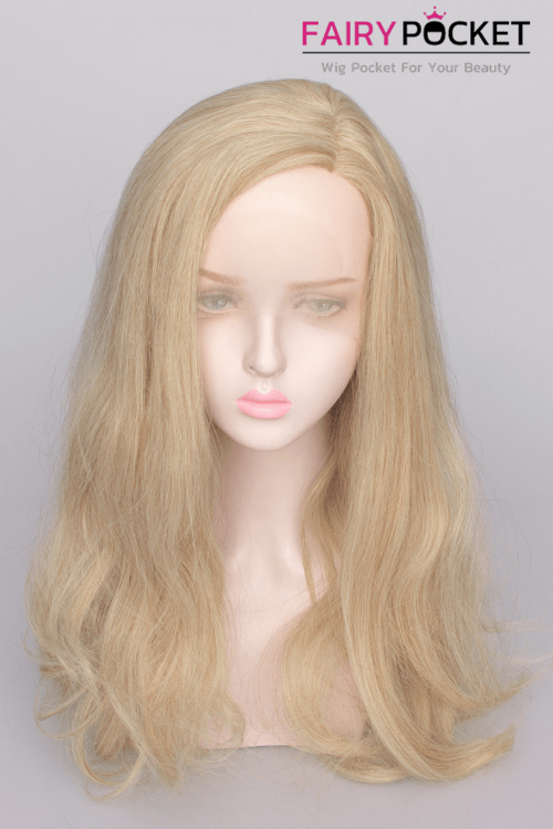 Sand Long Wavy Lace Front Wig