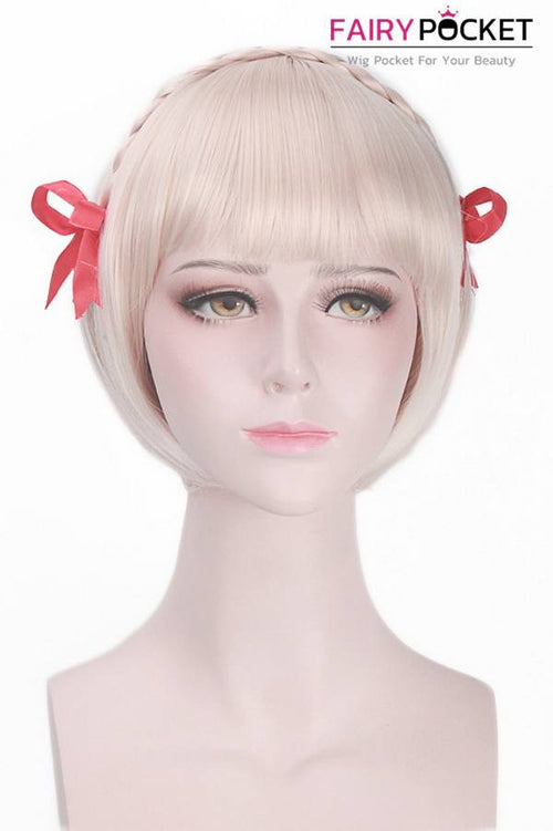 Short Bob Blonde Basic Cap Wig