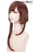 Short Wavy Brown Cosplay Wig