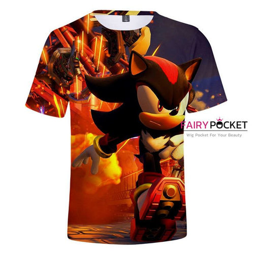 Sonic the Hedgehog T-Shirt - H