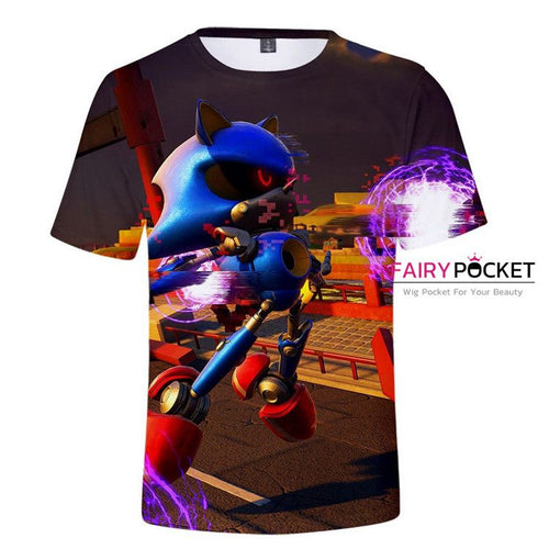 Sonic the Hedgehog T-Shirt - J