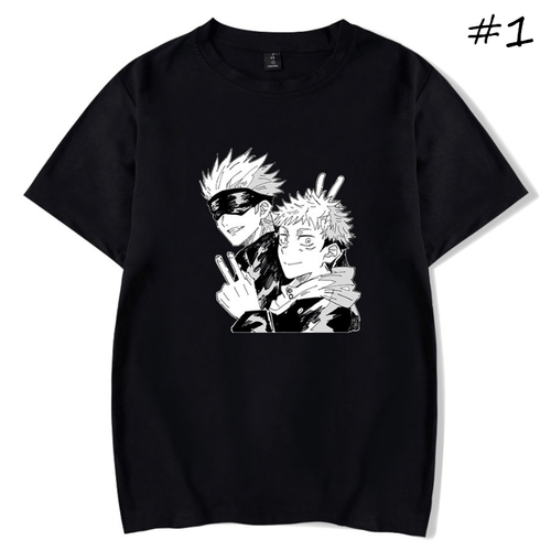 Sorcery Fight (Jujutsu Kaisen) Anime T-Shirt (5 Colors) - B