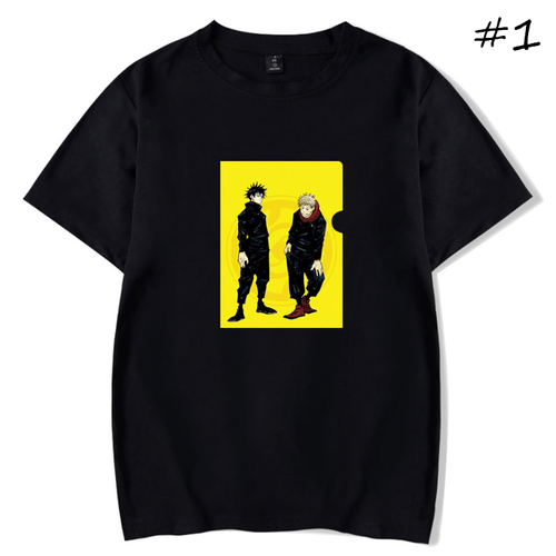 Sorcery Fight (Jujutsu Kaisen) Anime T-Shirt (5 Colors)