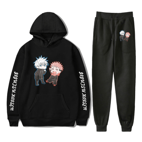 Sorcery Fight (Jujutsu Kaisen) Hoodie and Trousers Suits - G