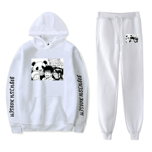 Sorcery Fight (Jujutsu Kaisen) Hoodie and Trousers Suits - H