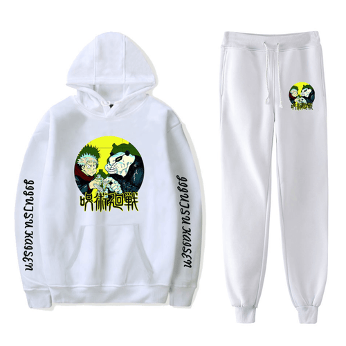 Sorcery Fight (Jujutsu Kaisen) Hoodie and Trousers Suits - I