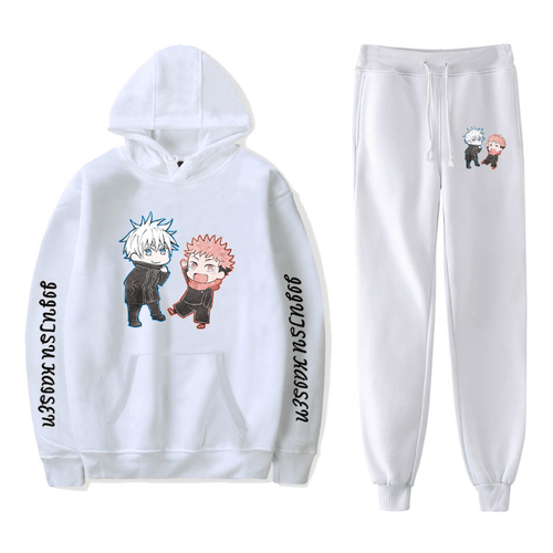 Sorcery Fight (Jujutsu Kaisen) Hoodie and Trousers Suits - J