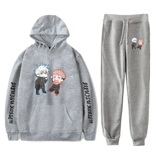 Sorcery Fight (Jujutsu Kaisen) Hoodie and Trousers Suits - M