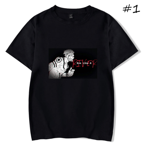 Sorcery Fight (Jujutsu Kaisen) Sukuna Ryoumen Anime T-Shirt (5 Colors) - B