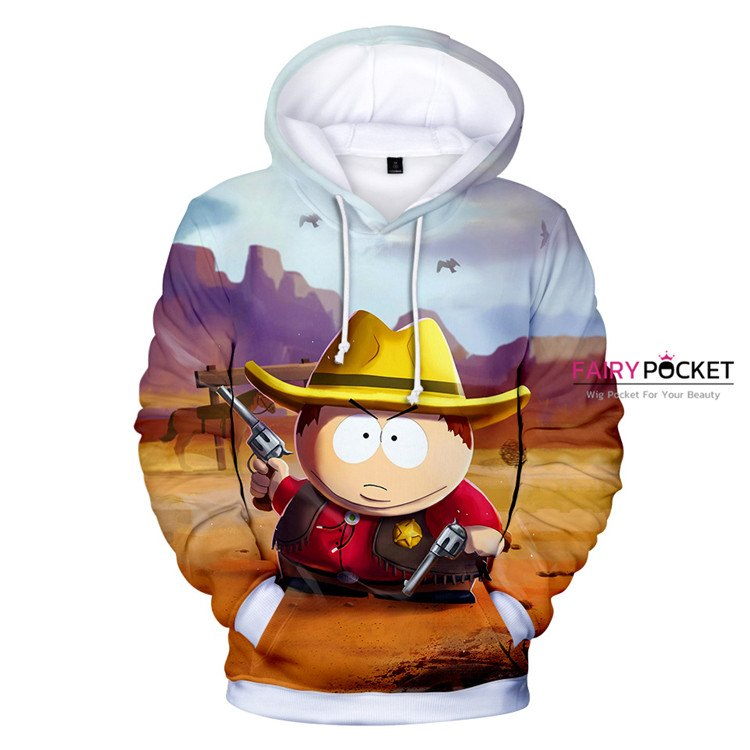 South Park Sheriff Cartman Hoodie