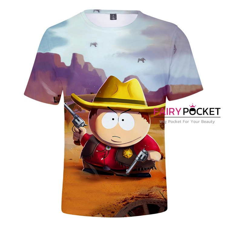 South Park Sheriff Cartman T-Shirt