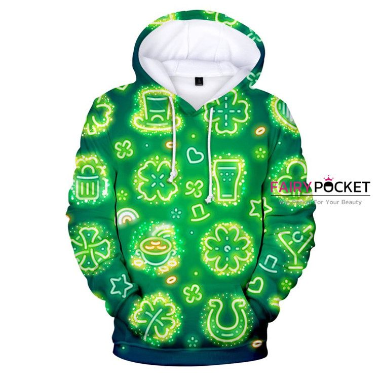 St. Patrick's Day Hoodie - E
