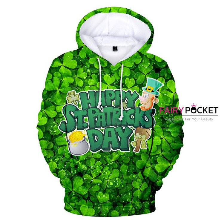 St. Patrick's Day Hoodie - F