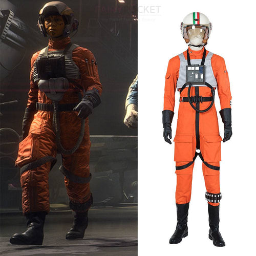 Star Wars: Squadrons Pilot Cosplay Costume