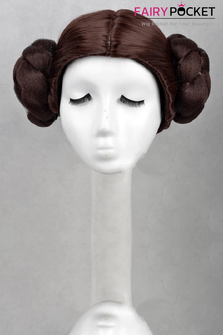 Star Wars Princess Leia Cosplay Wig