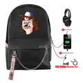 Stranger Things Backpacks with USB Charging Port - BC
