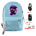 Stranger Things Backpacks with USB Charging Port - BY
