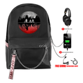 Stranger Things Backpacks with USB Charging Port - CA
