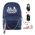 Stranger Things Backpacks with USB Charging Port - CC