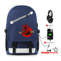 Stranger Things Backpack with USB Charging Port (5 Colors) - BB