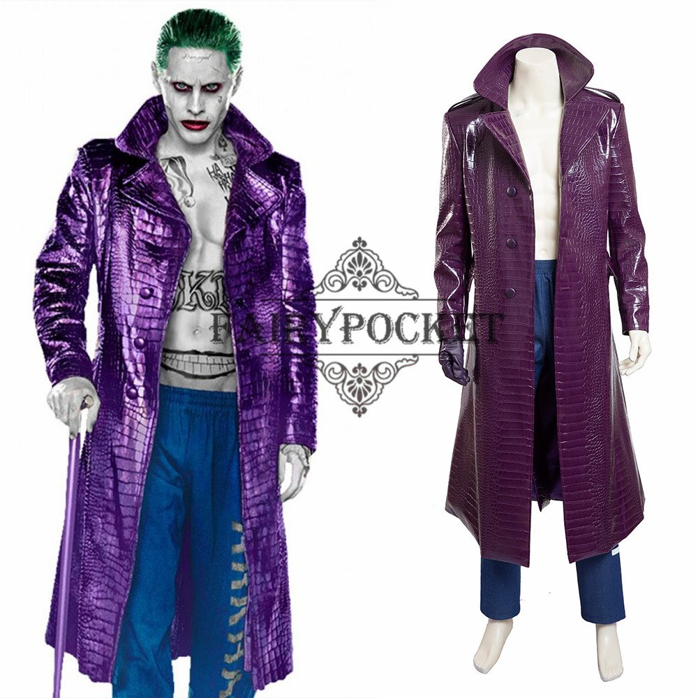 Suicide Squad The Joker Cosplay Costume B