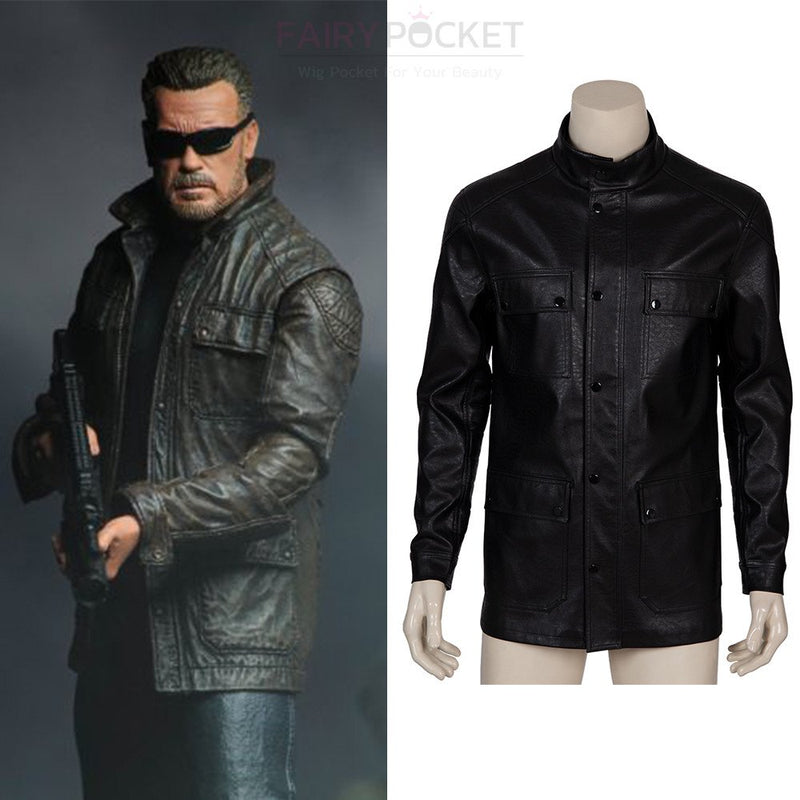 Terminator: Dark Fate T-800 Cosplay Costume