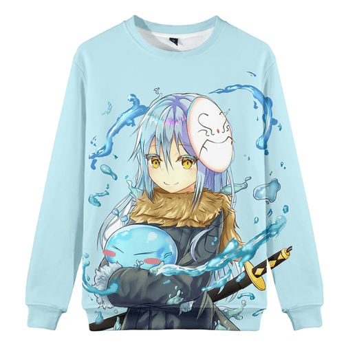 That Time I Got Reincarnated as a Slime Rimuru Tempest Hoodie - U