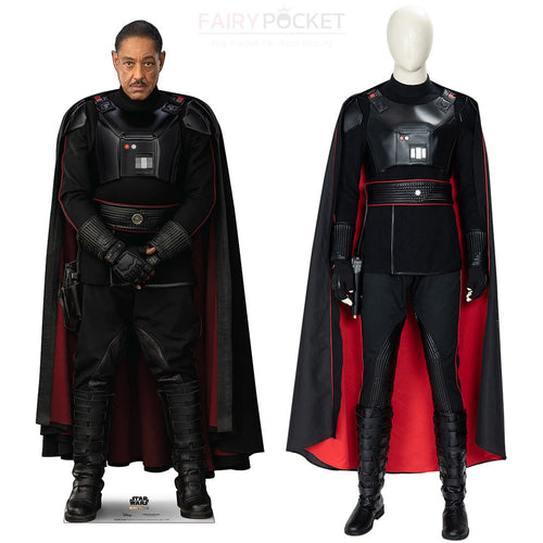 The Mandalorian Moff Gideon Cosplay Costume