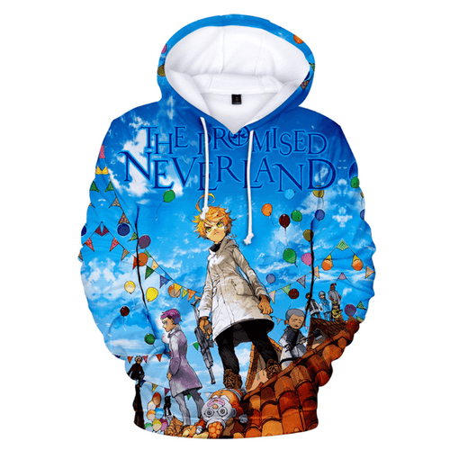 The Promised Neverland Anime Hoodie - I