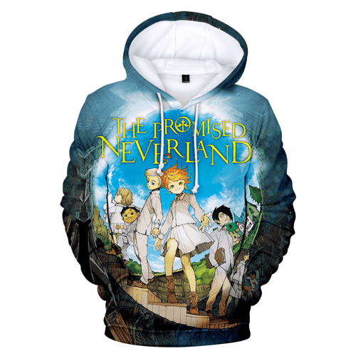The Promised Neverland Anime Hoodie - K