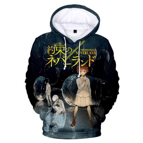 The Promised Neverland Anime Hoodie - L