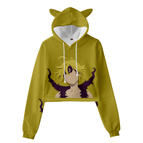 The Seven Deadly Sins Cat Ear Hoodie - P
