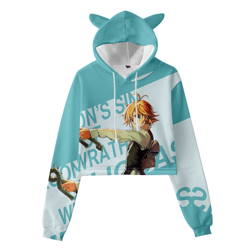 The Seven Deadly Sins Cat Ear Hoodie - Q