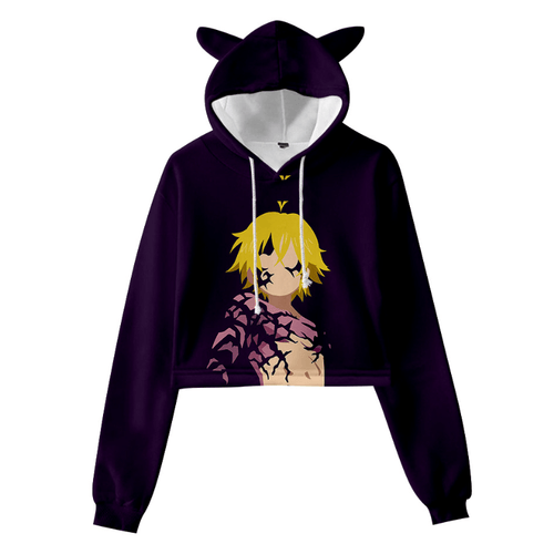 The Seven Deadly Sins Cat Ear Hoodie - R