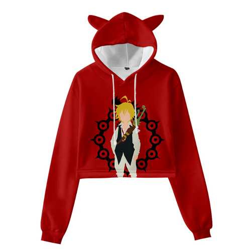 The Seven Deadly Sins Cat Ear Hoodie - S
